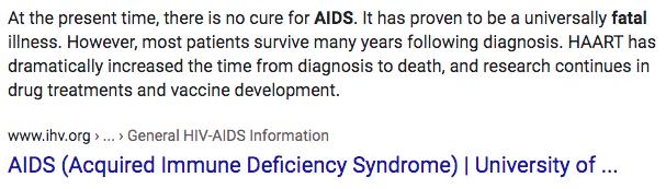 AIDS definition